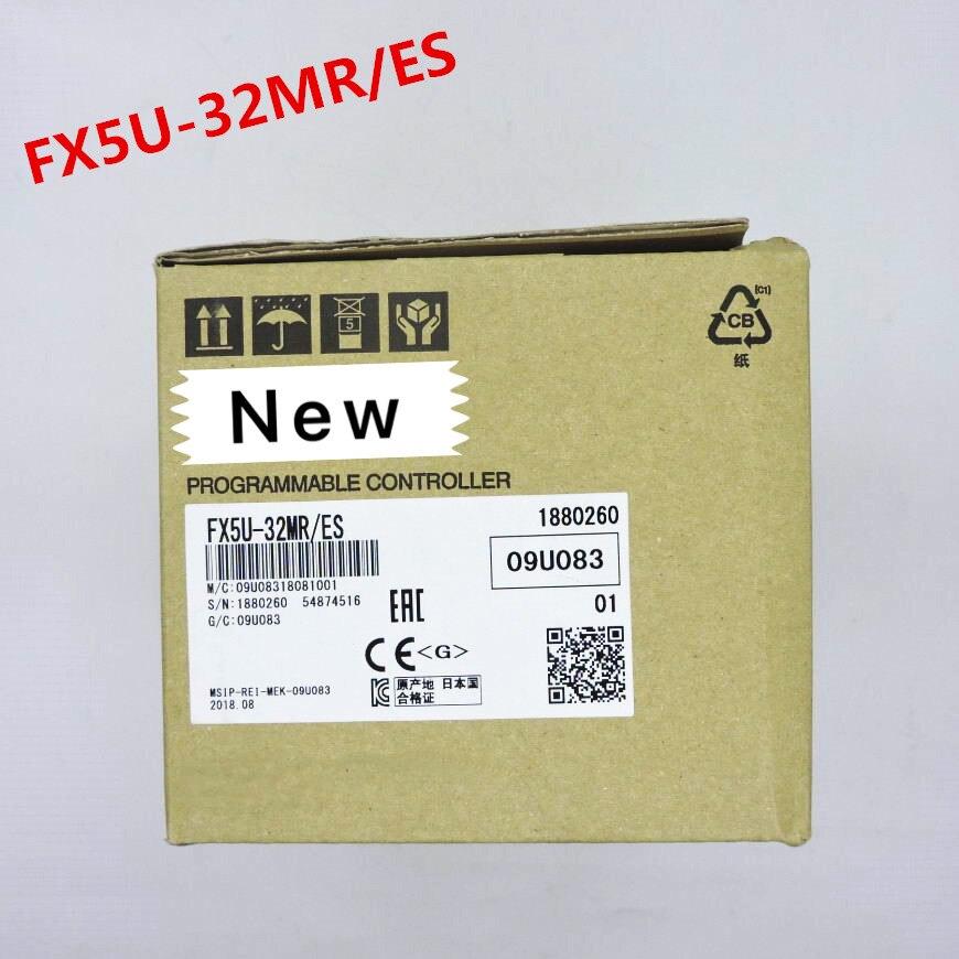 1 año de garantía original nuevo en caja FX5U 32MT/ES FX5U 32MR/ES FX5U 64MT/ES FX5U 64MR/ES FX5U 80MT /ES FX5U 80MR/ES-in Bobinadora de cable from Productos electrónicos    1