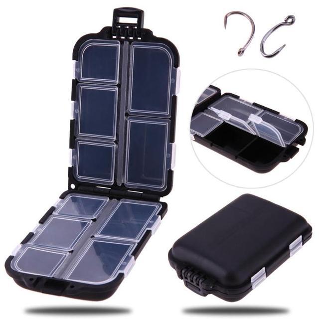 10 Compartments Mini Fishing Tackle Box.