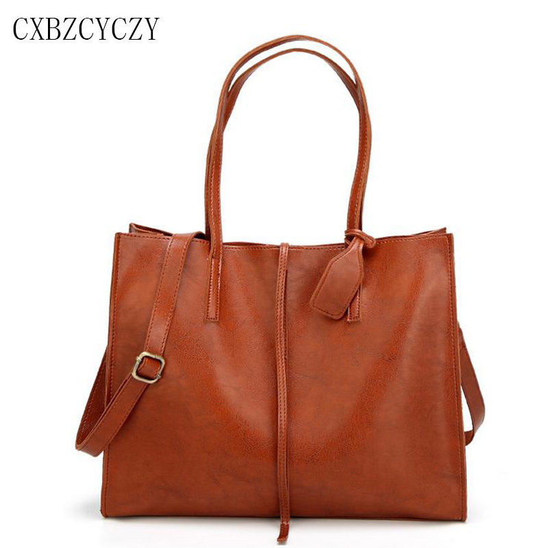 2017 Women Totes Bags Fashion Luxury Leather  Famous Brands Design Women Handbag Shoulder Bag High Quality Vintage Shopping Bag lafestin luxury shoulder women handbag genuine leather bag 2017 fashion designer totes bags brands women bag bolsa female