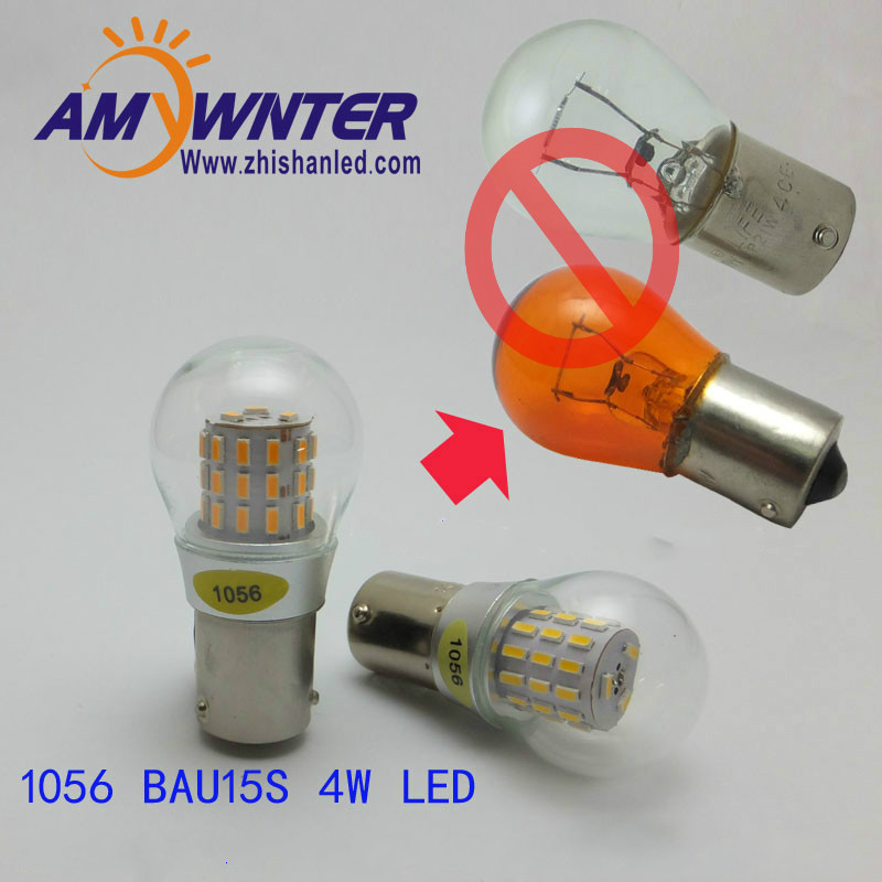 цена на 1056 Auto bulbs PY21W S25 led 3014 smd Car Tail Bulb Turn signal auto Reverse Lamp Daytime Running Light Amber white yellow