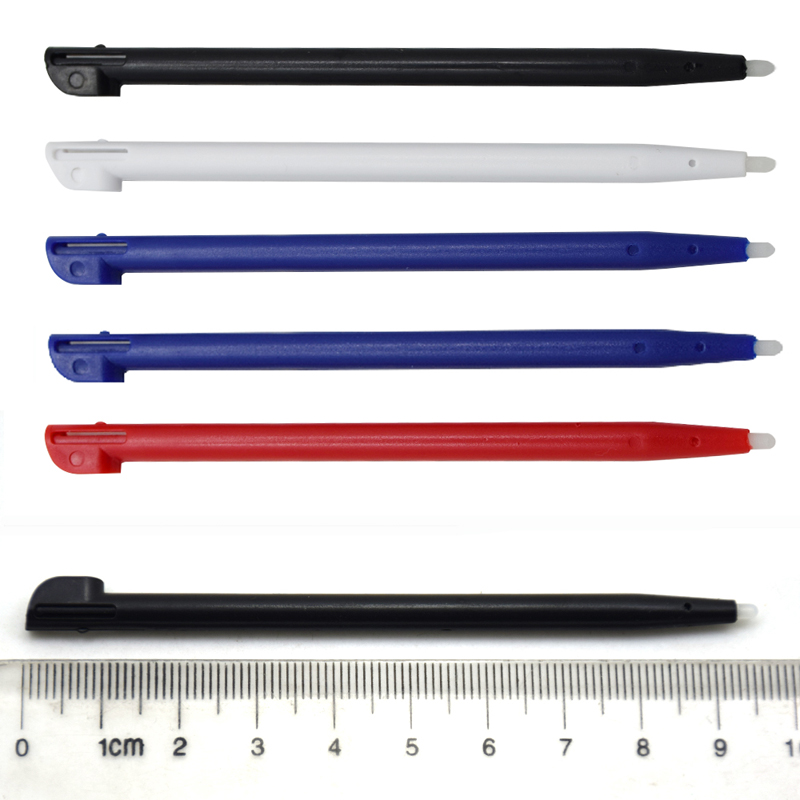 500pcs Lot Plastic Stylus Pen Screen Touch Pen For 2DS console touch stylus