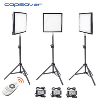 capsaver FL 3030 LED Video Light 3 in 1 Kit Flexible Photography Lighting Panel with Tripod Remote Control 30*30cm CRI 90 5600K