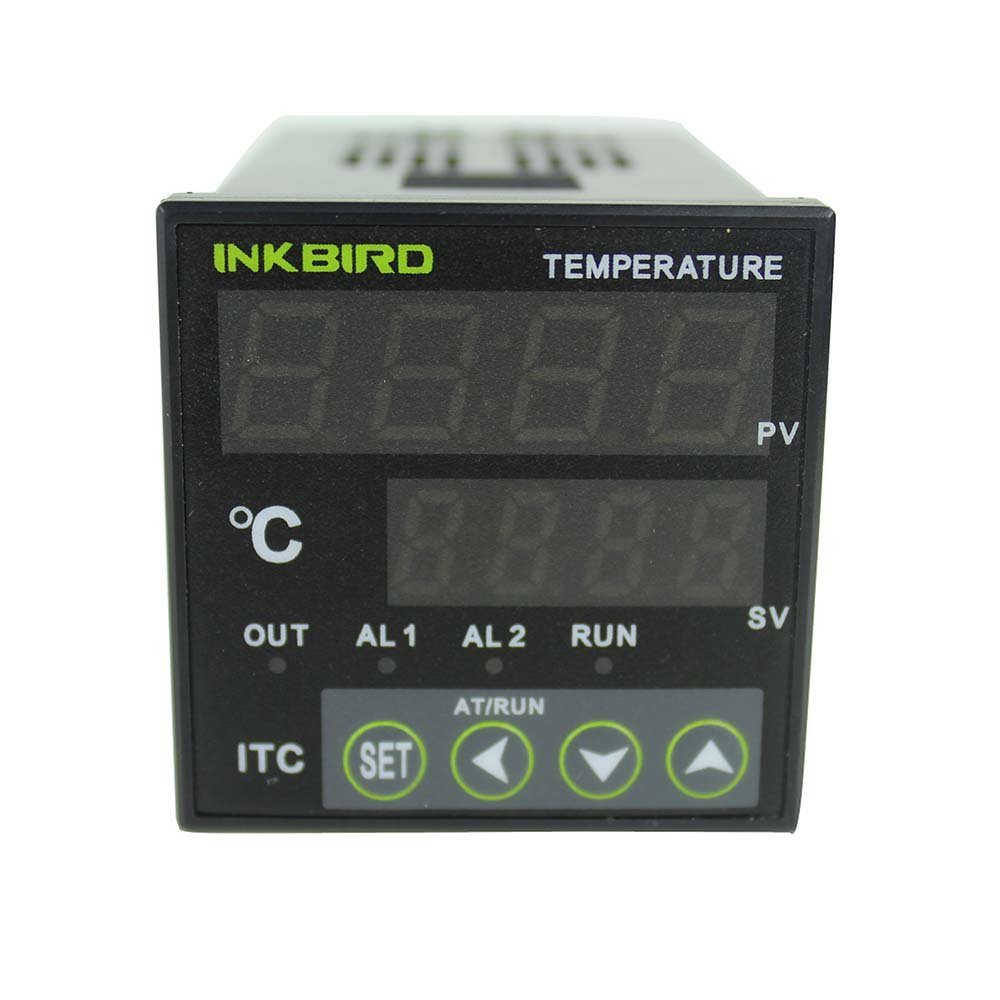 Inkbird Digital PID Temperature Controller Thermostat ITC-106VL, Fahrenheit & Centigrade, 12V/24V for Incubator, Home Brewing цены