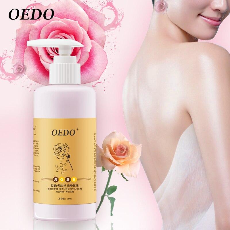 Rose Peptide Silk Body Cream Skin Care Body Creams Nourishing Antibacterial Moisturizing Anti-Chapping Nourishes The Skin