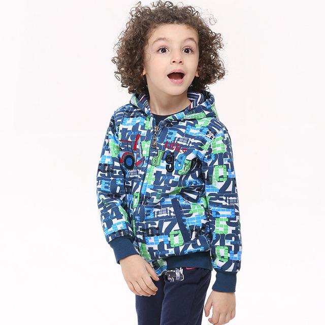 AZUL verde branco com zíper inverno meninos hoodies camisolas jaqueta de desgaste das crianças ano novo ternos esportivos bebê crianças roupas de algodão