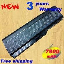 7800 мАч ноутбука Батарея для Toshiba Satellite A660 A660D A665 A665D C640 C645D C650 C655 C655D C660 C660D u400 u405 u500 U505