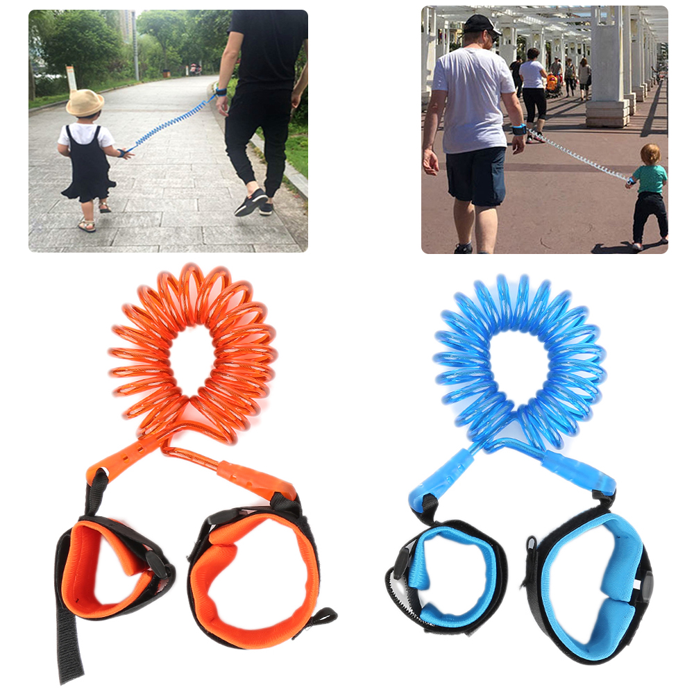 New Arrival Anti Lost Wrist Toddler Leash Safety Harness For Baby Children Outdoor Walking Hand Belt Band Anti-lost Band 1.5m