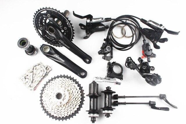 Shimano Deore M610 M615 3x10 2x10 скорость комплект велосипед MTB список групп Group Set + я-спец-b переключения + M615 тормоз + M615 концентратора