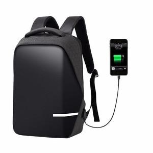 Image 2 - กระเป๋าเป้สะพายหลังผู้ชาย PREMIUM Anti Theft โรงเรียนแล็ปท็อปกระเป๋าเป้สะพายหลังกันน้ำ USB Port
