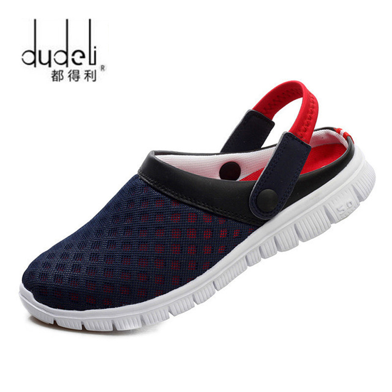 Summer Shoes Men Sandals Beach Slippers Men Sneakers Clogs Men Zuecos Sandalias Zapatos Hombre Size 36-46(China)