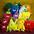 Super 25cm-37cm fruits plush toy doll cherry, peas. Sydney, Mushroom plush fruits vegetables toys stuffed fruta soft toys
