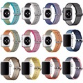 12 colores hoco adaptador incorporado tejido de nylon banda para apple watch serie 2 de tela correa de muñeca iwatch apple watch correa de nylon 42/38