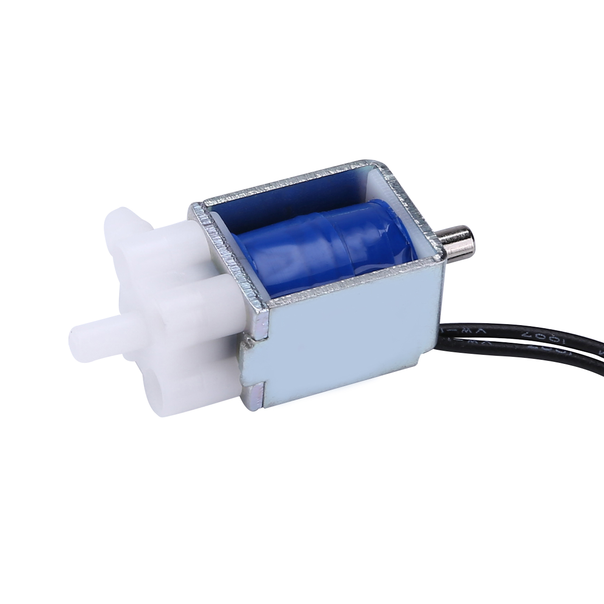 1Pc Solenoid Valve 220mA Electric Solenoid Valve Micro 2-Position 3-Way Electric Solenoid Valve For Gas Air Pump DC 5V 6V