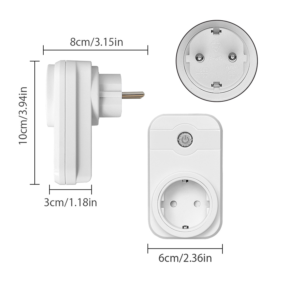 NTONPOWER Wifi Smart Power Socket EU Plug  (26)