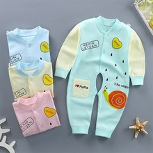 2019 Baby Infant Cotton, Clothes, Newborn Boy Girl Clothes Soft Rompers