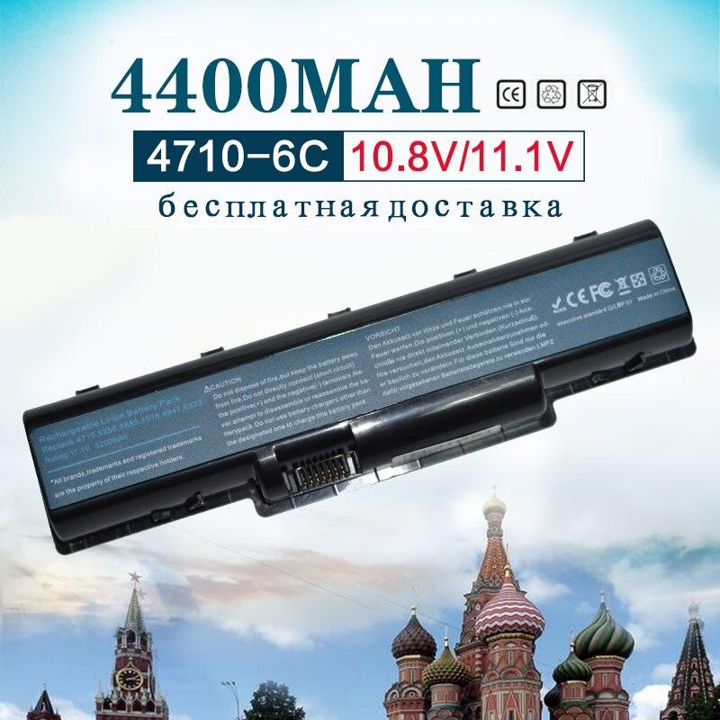 6Cells 4400mah Battery For Acer AS07A31 AS07A32 AS07A41 AS07A42 AS07A51 AS07A52 AS07A71 AS07A72 AS07A75 AS2007A MS2219 2930 4530
