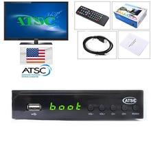 USA 1080P HDMI ATSC TV BOX DIGITAL TERRESTRIAL (Digital/Analog) CONVERTOR RECEIVER HDTV NTIA Cert Without ANTENNA