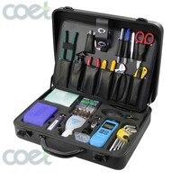 KOMSHINE KFS 35N 23 шт. комплект оптический кабель Аварийные наборы инструментов, волоконно оптический набор инструментов с нож по оптическому воло