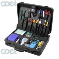 KOMSHINE KFS 35N 23 pcs Set Optical Cable Emergency Tool Kits,Fiber Optic Tool Kit With Optical Fiber Stripper And Pliers