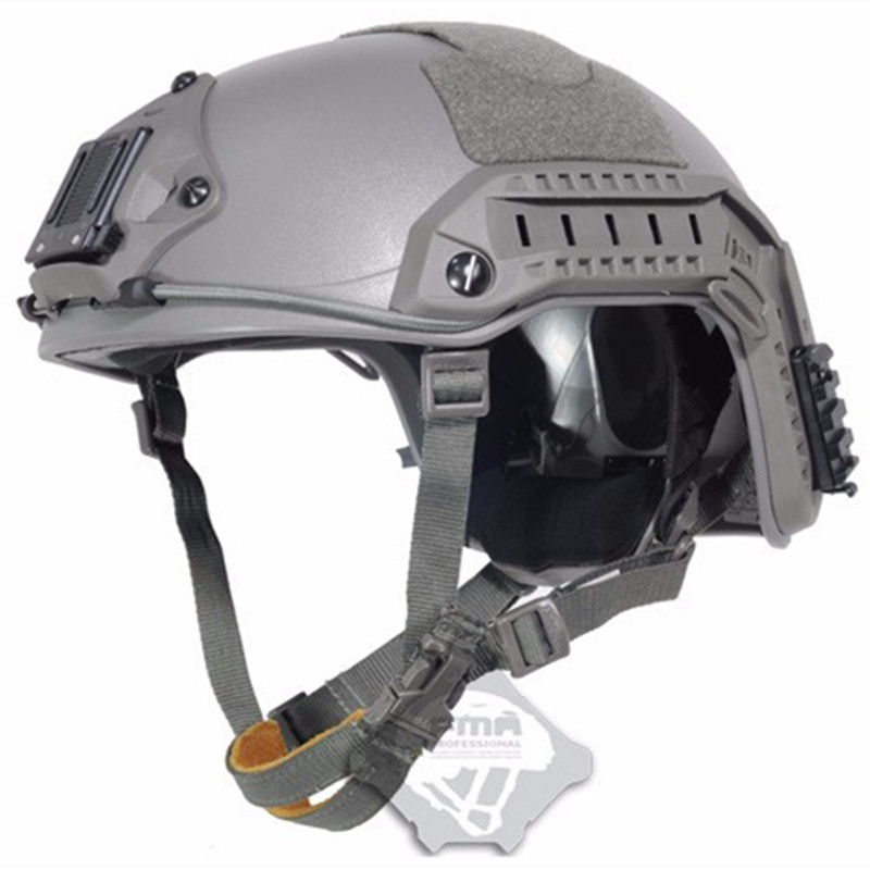Free Shipping 2017 Men Real Cascos Maritime Tactical Helmet For Airsoft Paintball Bicycling and Hunting with Hight Quality bicycling – touring