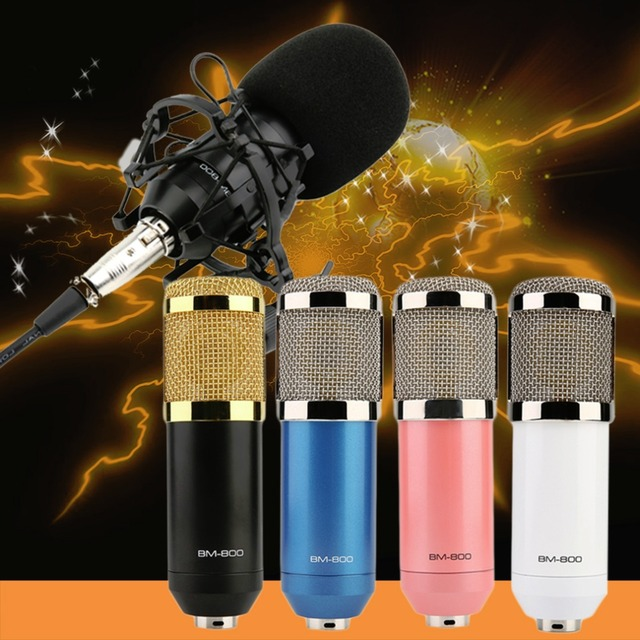 Новое Прибытие Профессиональный Конденсаторный Микрофон Студия Звукозаписи И Шок Гора Высокое качество