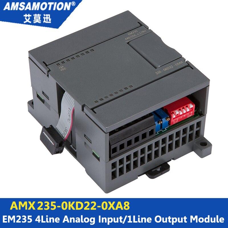 Suitable Siemens S7 200 Analog Module 4I 1O EM235 235 0KD22 0XA8 Extension Module