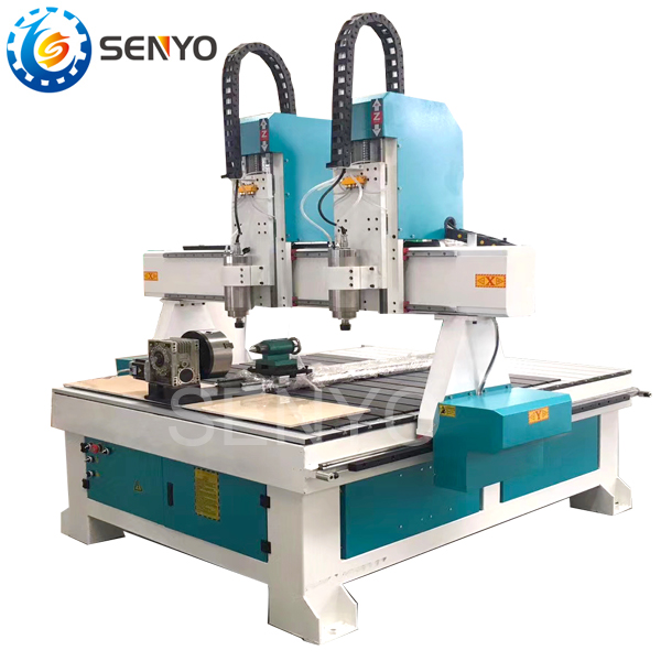 Us 4600 04 Senyocnc 4 Axis Cnc Router Machine 1224 Cnc Router Wood Caving Machine In Wood Routers From Tools On Aliexpress 11 11 Double