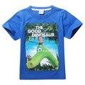 Футболка мальчики динозавров 2017 летний новый дети Мальчики одежда парк юрского периода марка мальчиков одежда детские Футболки для мальчиков