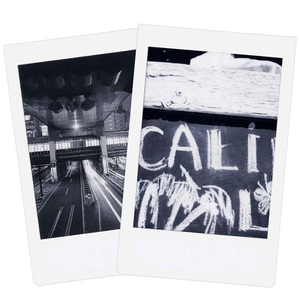 Image 4 - New 10pcs Fujifilm Instax Mini Film Monochrome For Mini 9 8 7s 7 50s 50i 90 25 dw Share SP 1 Polaroid Instant Photo Camera