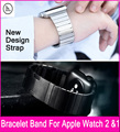 2017 HOCO New Design Stainless Steel Link Bracelet Replacement Strap For Apple Watch 2/1 Add Or Remove Links Without Any Tools