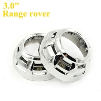 3 Inches H4 Easy Install Koito Q5 Bi Xenon Hid Projector Lens Cayenne Projector Shroud Mask