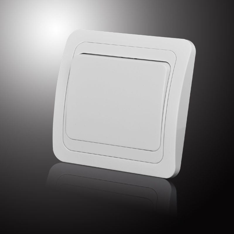 Light Switch  one gang switch white Color European  inset wall switch DIY 10A 250V legrand Schneider livolo-in Switches from Lights & Lighting