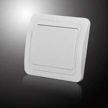 Light Switch one gang switch white Color European inset