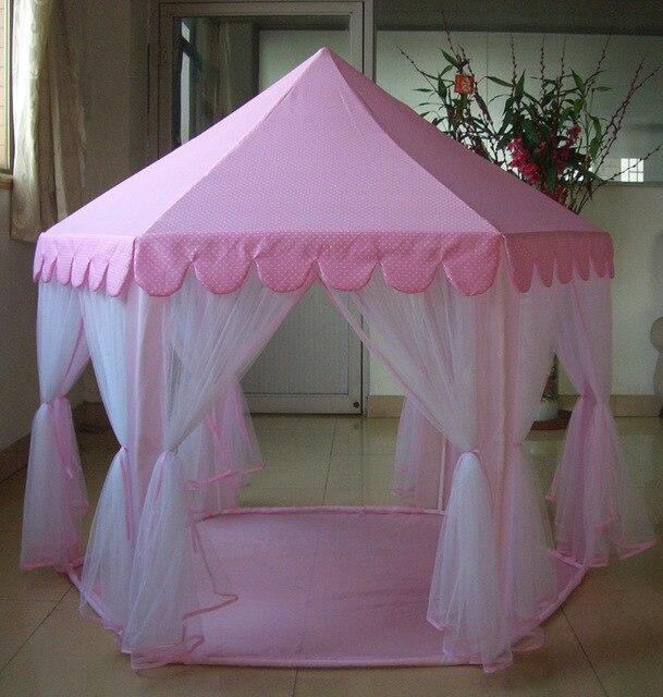 nios de princesa zona infantil de juegos grande casa de juego pink kids tipi tiendas