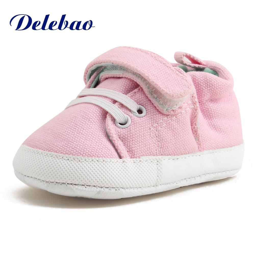 Delebao 2017 ontwerp lente / herfst baby schoenen unieke PU antislip - Baby schoentjes - Foto 2