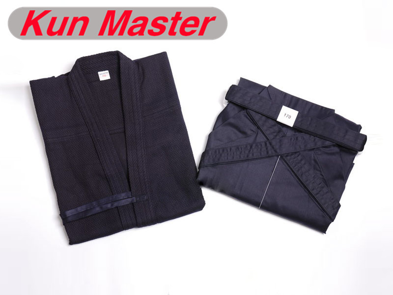 Kendo hight quality blue white red black Culottes cotten Kendogi Hakama Japan Kendo Martial Arts Uniform
