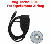 2015 Vag Tacho 3.01+ for Opel Immo Airbag Scanner OBD/OBD2 for Opel Immo Reader For Opel Immo Pin Code Reader