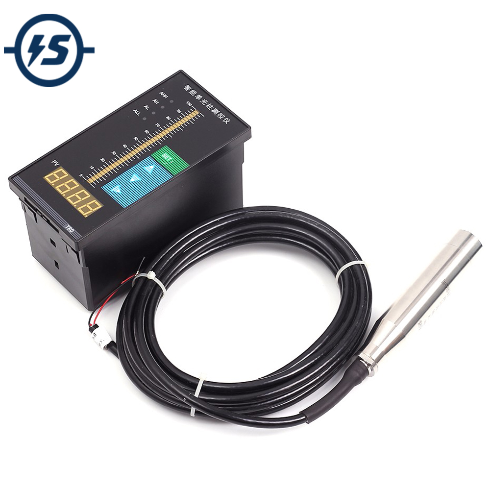 Dc 24v 30ma Water Level Digital Display Meter 1m Probe