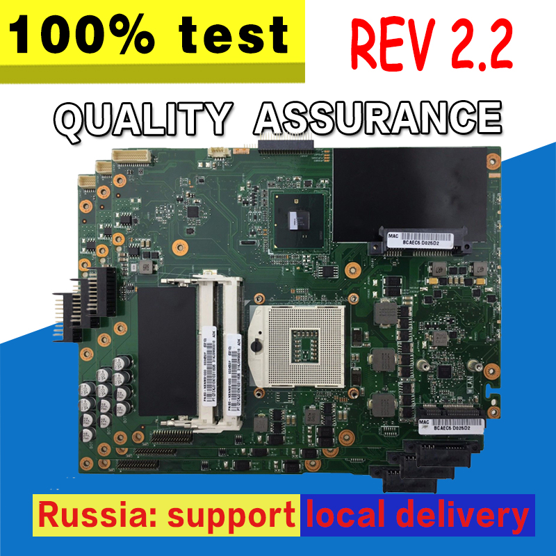 K52F Motherboard REV:2.2 For ASUS A52F X52F K52F Laptop Motherboard K52F Mainboard K52F Motherboard Test 100% OK
