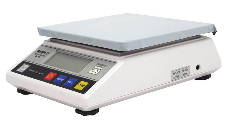 1pc 7.5kg x 0.1g Digital Precision Industrial Weighing Scale Balance Counting Table Top Scale Electronic Laboratory Balance 457A 200000g electronic balance measuring scale large range balance counting and weight balance with 10g scale