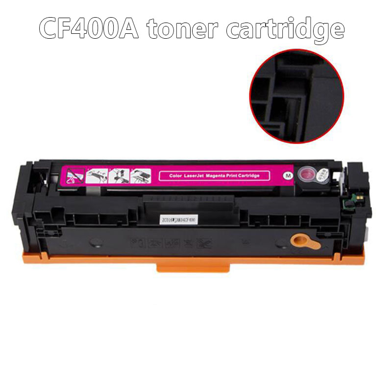 CF400A CF401A 402 403A 201A Compatible Color Toner Cartridge For HP Color LaserJet Pro M252n M252dn MFP M274n M277dw M277n