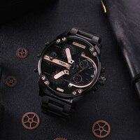 Дизельные часы кварцевые часы мужские часы люксовый бренд спортивные водостойкие часы DZ7312