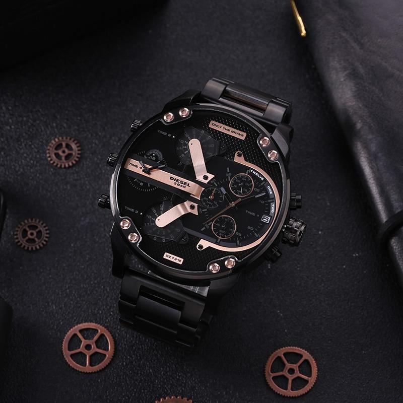 Montre Diesel montre à quartz montre pour hommes de marque de luxe montres sport montre étanche DZ7312