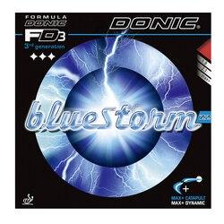 Donic Tennis Gummi Bluestorm Z1 Z2 Z3 Spin Geschwindigkeit pickel in mit schwamm ping pong tenis de mesa