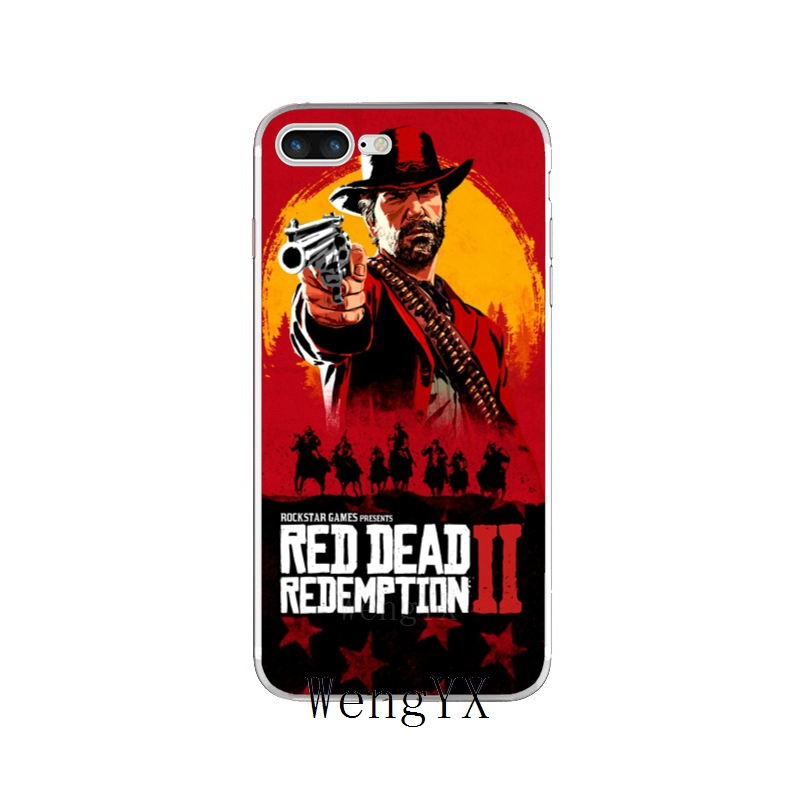 iphone 8 case red dead