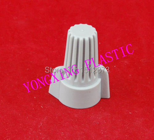50 Piece nylon wire connector P15  close end connector terminal block 18-8 AWG  Grey color professional welding wire feeder 24v wire feed assembly 0 8 1 0mm 03 04 detault wire feeder mig mag welding machine ssj 18