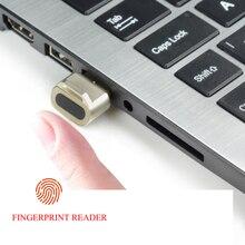 Mini lector de huella dactilar USB de Seguridad Biométrica, llave, interfaz mini USB para caja fuerte de PC