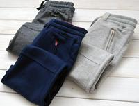 The new children's cotton slacks Terry sports pants fashion style on sale free shipping
