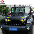 Car Innovative Accessories Grille Auto Styling ABS Front Grill For Jeep Wrangler JK 07 08 09 10 11 12 13 14 15