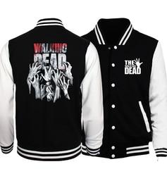Hot sale 2017 new the walking dead men coat hip hop baseball jacket fashion casual slim.jpg 250x250